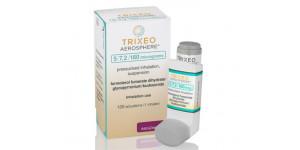 Breztri Aerosphere (Budesonide / glycopyrronium / formoterol) 160/9/4.8mcg, 120 MDI