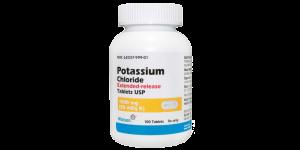K-DUR (Potassium Chloride) 20meq (1500 mg) 100 Tabs