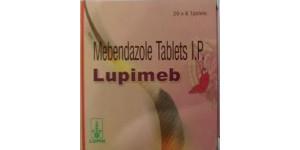 Vermox (Mebendazole) - 100mg, 120 Tabs