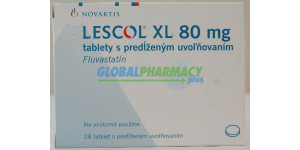 Lescol XL (Fluvastatinl) Caps and Tabs