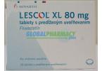 Lescol XL (Fluvastatinl) Caps and Tabs