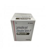 Duovir 150/300mg, 60 Caps Lamivudine/Zidovudine