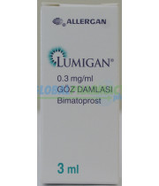 Lumigan (Bimatoprost) anti-inflammatory eye drops