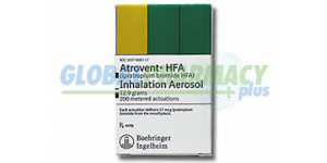 Atrovent HFA® Ipratropium Bromide HFA - Brand Name and Generic Duolin