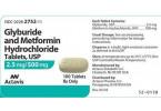 Glucovance (Glyburide/Metformin)