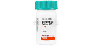 Bumetanide (Bumex) 1mg, 84 Tabs