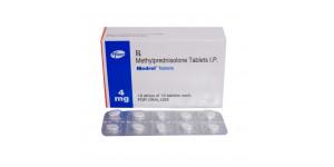 Medrol (Methylprednisolone ) - 4mg, 100 Tabs