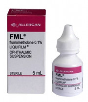 Flarex/FML (Fluorometholone Acetate) - 0.1%, 5 ml Drops