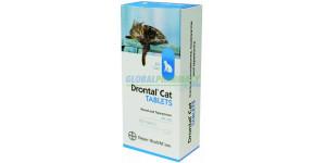 Drontal Cat (Praziquantel,Pyrantel) 20mg/80mg, 60 Tab