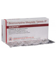 Parlodel (Bromocriptine Mesylate) - 2.5mg, 100 Tabs
