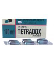 Doxycycline Hyclate 100mg, 98 Capsules