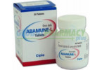 Abacavir (Ziagen) 300mg, 30 Tabs ZIAGEN300-30
