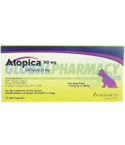 Atopica (Cyclosporine) Capsules for Dogs