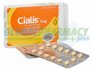 Cialis Pills Generic or Brand Name in Daily or Soft - (Tadalafil)
