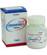 Abacavir+Lamivudine (Epzicom) 600/300 mg , 30 Pills