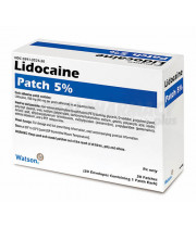 Lidoderm Patch (Lidocaine) - 5%, 30 patches