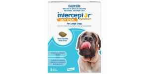 Interceptor Spectrum for Large Dog 51-100 lbs, 6 Tablets