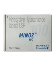 Cynomycin (Minocycline) 100mg, 100 tabs