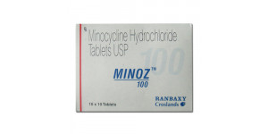 Cynomycin (Minocycline) 100mg, 100 tabs