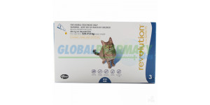 Revolution for Cat and Kitten - Heartworm, Ear Mites, and Flea protection