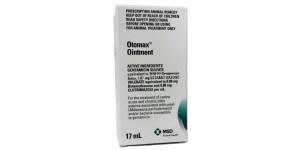 Otomax (gentamicin sulfate + betamethasone valerate) Ointment 1.07mg, 17ml