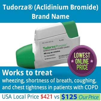 low cost Tudorza
